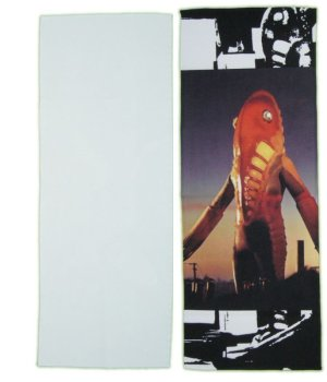 画像1: ウルトラセブン メトロン星人 グッズ タオル