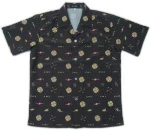 画像1: ウルトラセブン グッズ アロハシャツ モノグラム