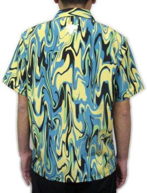 画像4: ウルトラQ オープニング アロハシャツ マーブル模様 生地 服 ウエアー