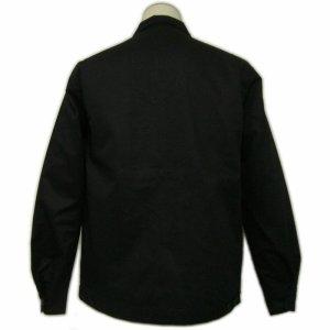 画像2: 黒 ジャケット(無地 スイングトップ ブルゾンジャンパー) 刺繍 名前入れ可 カー倶楽部 通販