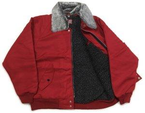 画像3: 赤 ドカジャン パイロット ジャンパー 星 刺繍 入り ワンスター