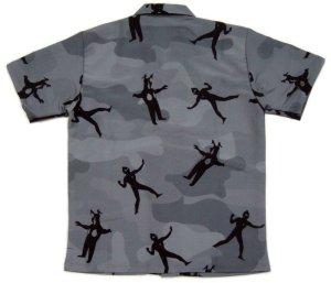 画像3: ウルトラマン グッズ アロハシャツ 迷彩シルエット