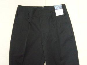 画像2: 変形 学生ズボン 2タック ボンタン 黒 (通販 学生服 ヤンキー)6000