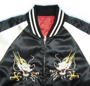 画像3: スカジャン 鷹 龍 刺繍 和柄服 通販 ( クローズ 坊屋春道 )
