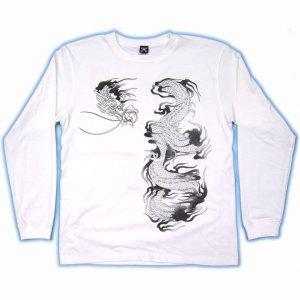画像2: 史進 和柄 長袖Tシャツ 刺青デザインの紅雀(名入れ刺繍可)通販 和柄服