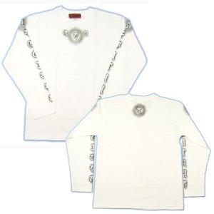 画像3: 毘沙門天 梵字 長袖Tシャツ 刺青 デザイン 梵字タトゥー Tシャツの袖にデザイン (名入れ刺繍可)通販 和柄服