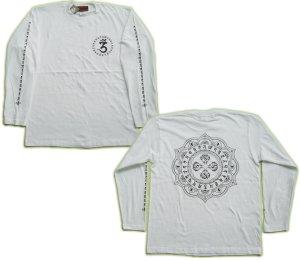 画像5: 毘盧遮那 梵字 長袖Tシャツ 刺青 デザイン (名入れ刺繍可)通販 梵字タトゥー