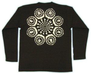 画像2: 総守護 干支十二支 梵字 長袖Tシャツ 刺青 デザインのマハースカ( 梵字タトゥー 通販)