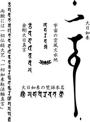 画像5: 大日三昧 梵字 スエット パーカー 刺青デザインのマハースカ(名入れ刺繍可)通販 和柄服