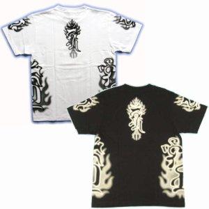 画像5: 不動三尊の梵字Tシャツ通販