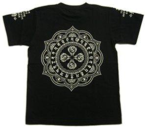 画像2: 毘盧遮那 梵字 Tシャツ 刺青 デザイン のマハースカ 通販