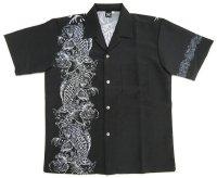 鯉 アロハシャツ 和柄アロハ 大きいサイズ 3L 4L 5L 受注生産