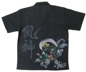 画像2: 風神 雷神 アロハシャツ 和柄アロハ 大きいサイズ 3L 4L 5L 受注生産