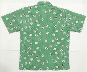 画像5: 麻雀牌 国士無双 アロハシャツ 和柄アロハ 大きいサイズ ギャンブルシャツ 3L 4L 5L 受注生産