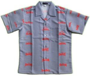 画像1: ウルトラ ロゴ アロハシャツ ウルトラマン ウルトラセブン ジャック エース タロウ レオ タイトル ロゴ