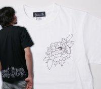 紅雀 和柄 唐獅子牡丹 聖獣 Tシャツ 刺青 和彫り デザイン 和柄服