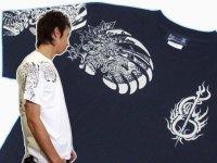 紅雀 和柄 大蛇 武者 刺青 Tシャツ 「送料無料」 通販 刺青 和彫り デザイン