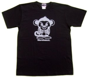 画像3: 刺青 サル Tシャツ。かわいいキャラクターを和彫デザイン