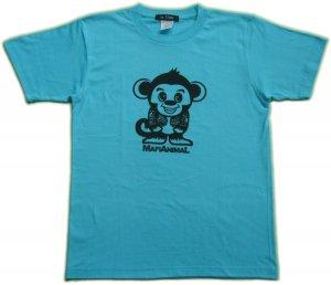 画像4: 刺青 サル Tシャツ。かわいいキャラクターを和彫デザイン