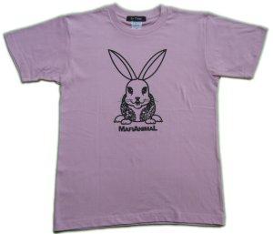 画像3: 刺青 ウサギ Tシャツ。かわいいキャラクターを和彫デザイン