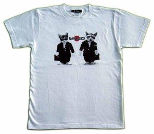 画像2: なめ猫 ライセンス Tシャツ 猫写真 全日本暴猫連合 なめんなよ