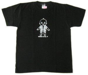 画像3: 刺青 キューピー Tシャツ タトゥー QP 和彫り プリント