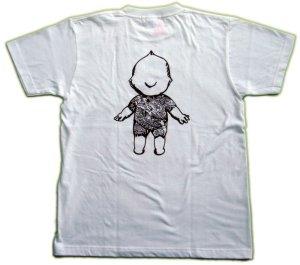 画像4: 刺青 キューピー Tシャツ タトゥー QP 和彫り プリント