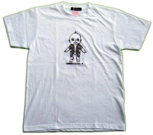 画像2: 刺青 キューピー Tシャツ タトゥー QP 和彫り プリント