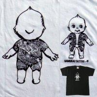 刺青 キューピー Tシャツ タトゥー QP 和彫り プリント
