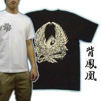鳳凰の和彫りTシャツ通販
