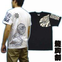 龍の刺青デザインTシャツ通販