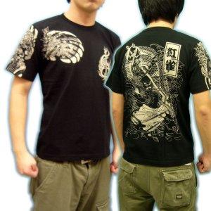 画像2: 水滸伝の花和尚Tシャツ通販