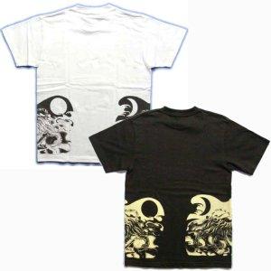 画像5: 虎巴 和柄 Tシャツ 紅雀 通販 名入れ刺繍可 刺青 和彫り デザイン