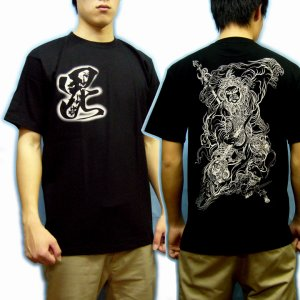 画像4: 四天王の毘沙門天和柄 Tシャツ通販