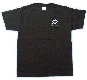 画像1: コマンタレブ 刺繍 Tシャツ ピクトグラム パロディー