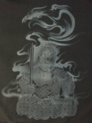 画像3: 不動明王 和柄 スエット ジャンパー 刺青デザインの紅雀(名入れ刺繍可)通販 和柄服