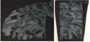 画像4: 不動明王 和柄 スエット ジャンパー 刺青デザインの紅雀(名入れ刺繍可)通販 和柄服
