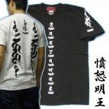 画像: 憤怒明王の梵字Tシャツ通販
